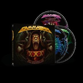 30 Years Live - 2CD+DVD / Gamma Ray / 2021