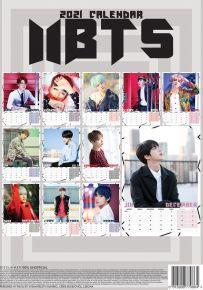 BTS 2021 Calendar / BTS / 2021