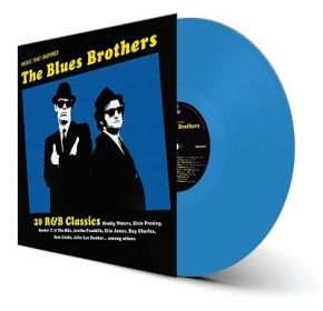 Music That Inspired The Blues Brothers - LP (Blå Vinyl) / Various Artists / 2021