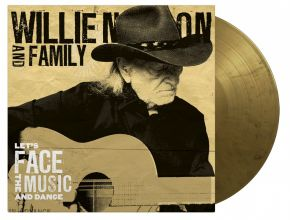 Let's Face The Music And Dance - LP (Guld/Sort Marble Vinyl) / Willie Nelson & Family / 2013/2021