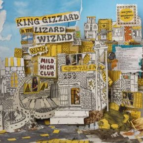 Sketches Of Brunswick East - LP (LRSD 2020 Farvet Vinyl) / King Gizzard & The Lizard Wizard | Mild High Club / 2017 / 2020