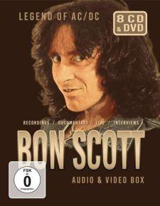 Bon Scott Audio & Video Box - 7CD+DVD / Bon Scott / 2021