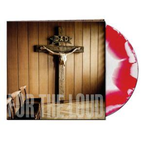 A Prayer For The Loud - LP (Hvid/Rød Vinyl) / D.A.D. / 2019 / 2021