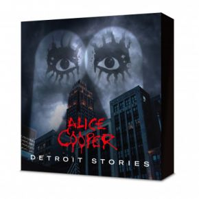 Detroit Stories - CD+BD +T-Shirt  +Mundbind Bokssæt / Alice Cooper / 2021