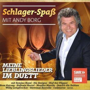 Schlager-Spaß mit Andy Borg: Meine Lieblingslieder im Duett - CD / Andy Borg / 2019