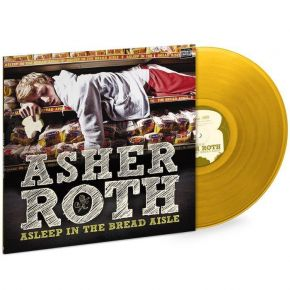 Asleep In The Bread Aisle - LP (Guld vinyl) / Asher Roth / 2009 / 2019