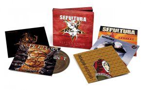 Sepulnation: The Studio Album - 5CD / Sepultura / 2021