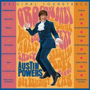 Austin Powers (Original Soundtrack) - 2LP (RSD 2020 Farvet Vinyl) / Various Artists / 1997 / 2020