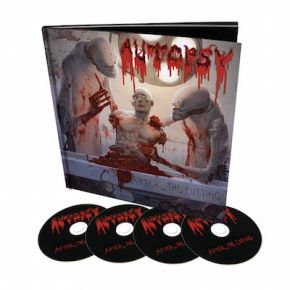 After The Cutting - 4CD (Book Boxset) / Autopsy / 2015