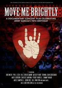 Move Me Brightly - DVD / Jerry Garcia Tribute / 2013