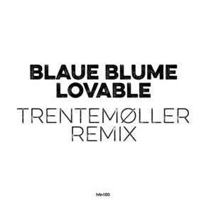 """Lovable (Trentemøller Remix) - 10"""" Vinyl / Blaue Blume x Trentemøller / 2020"""