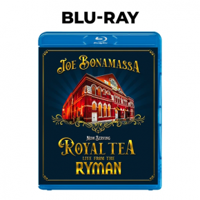 Now Serving: Royal Tea Live from the Ryman - Blu-Ray / Joe Bonamassa / 2021