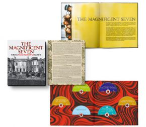 THE MAGNIFICENT SEVEN - 5CD+DVD+Bog (Deluxe) / The Waterboys / 2021