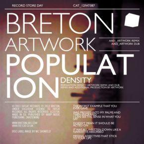 """Population Density - 12"""" Vinyl / Breton / 2012 / 2013"""