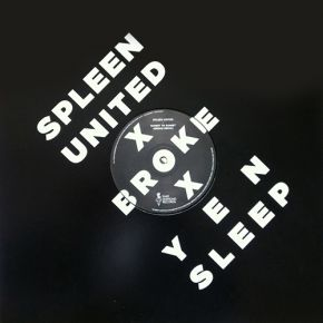 "Sunset To Sunset / Restless Beach - 12"" / Spleen United & Broke / 2013"