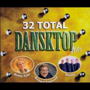 32 Total Dansktop Hits - 2CD / Various / 2002