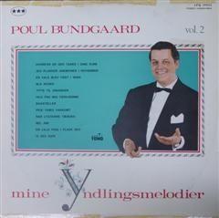 Poul Bundgaard - Vol. 2 - LP / Poul Bundgaard / 1968
