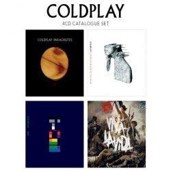 Parachutes / A Rush of Blood / X&Y / Viva La Vida - 4CD / Coldplay / 2012