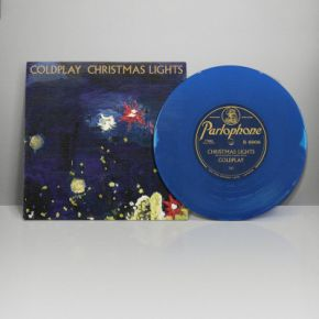 "Christmas Lights - 7"" Vinyl (Farvet vinyl) / Coldplay / 2010 / 2020"