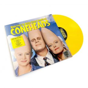 Coneheads (Music From The Motion Picture Soundtrack) - LP (Gul RSD 2019 Vinyl) / Various Artists / 1993/2019