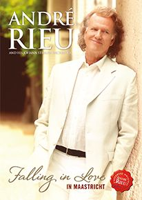 Falling In Love In Maastricht (2016) - Blu-Ray / André Rieu and his Johann Strauss Orchestra / 2016