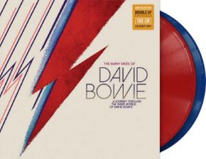 The Many Faces Of David Bowie - A Journey Through The Inner World Of David Bowie - 2LP (Farvet Vinyl) / Various / 2016/2020