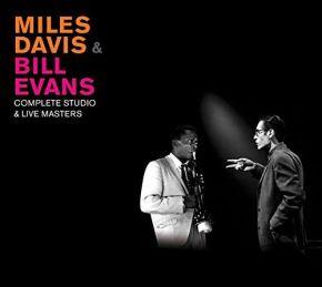 Complete Studios & Live Masters - 5LP (RSD 2020 Farvet Vinyl) / Miles Davis and Bill Evans / 2020