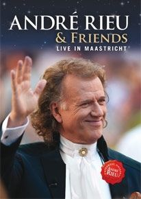 & Friends / Live In Maastricht - bluray / Andre Rieu / 2013