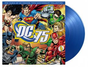 The Music Of DC Comics: 75th Anniversary Collection - LP (Farvet vinyl) / Various Artists | Soundtrack / 2010 / 2020