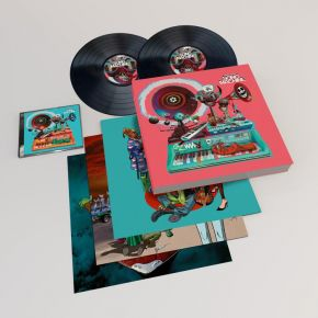 Song Machine: Season One - Strange Timez - 2LP+CD (Deluxe Bokssæt) / Gorillaz / 2020