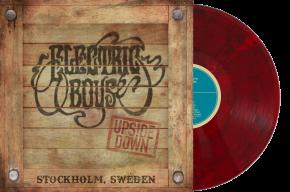 Upside Down - LP (Rød Marble Vinyl) / Electric Boys / 2021