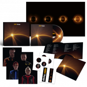 Voyage - CD (Limited CD sized box with artcards and stickers) / Abba / 2021