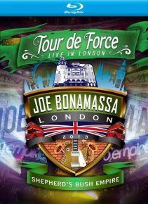 Tour De Force Live In London / Shepherd's Bush Empire - bluray / Joe Bonamassa / 2013