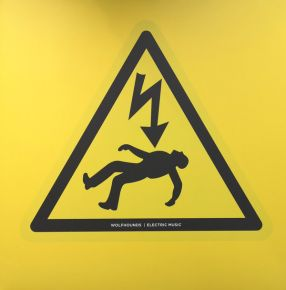 Electric Music - LP (Farvet vinyl) / Wolfhounds / 2020