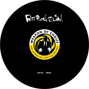 """Weapon Of Choice - 12"""" Picture Disc Single (RSD 2021 Vinyl) / Fatboy Slim / 2001/2021"""