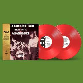Fela Kuti Live with Ginger Baker - LP (Rød Vinyl)  / Fela Kuti / 1971/2021