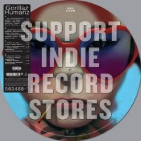Humanz - 2LP (RSD 2017 Black Friday Picture Disc Vinyl) / Gorillaz / 2017