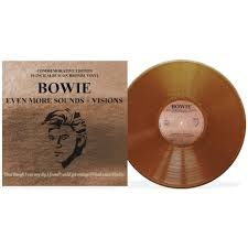 """Even More Sounds + Visions - 10"""" Bronze Vinyl / David Bowie / 2020"""