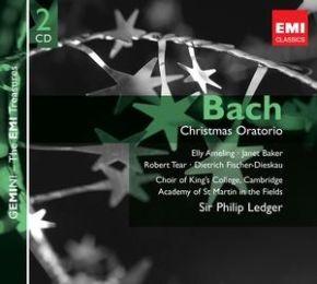 Christmas Oratorio - 2CD / Bach | Sir Philip Ledger / 1977 / 2008