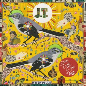 J.T. (Limited Nordic Edition) - LP (Farvet Vinyl) / Steve Earle & The Dukes / 2021