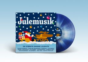 Julemusik - LP (Splattervinyl) / Various Artists / 2019