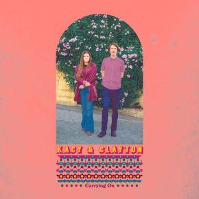 Carrying On - LP (Farvet vinyl) / Kacy & Clayton / 2019