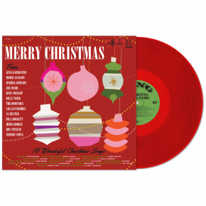 Merry Christmas From King Records - LP (Rød Vinyl) / Various Artists / 1959 / 2019