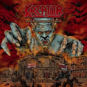 London Apocalypticon (Live At The Roundhouse) - CD+Blu-ray / Kreator / 2020