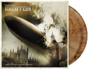 The Many Faces Of Led Zeppelin (A Journey Through The Inner World Of Led Zeppelin) - 2LP (Farvet Vinyl) / Various Artists / 2020