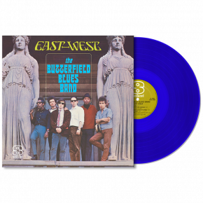 East-West - LP (Blå Vinyl) / The Paul Butterfield Blues Band / 1966 / 2018