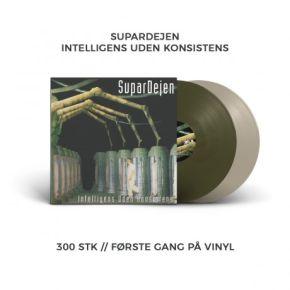 Intelligens Uden Konsistens - 2LP (RSD 2018 Farvet Vinyl) / Supardejen / 1999 / 2018
