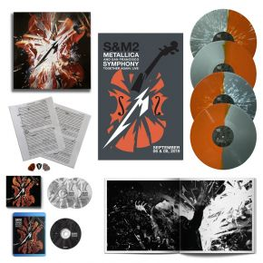 S&M2 - 2CD+4LP+BR (Super Deluxe) / Metallica / 2020