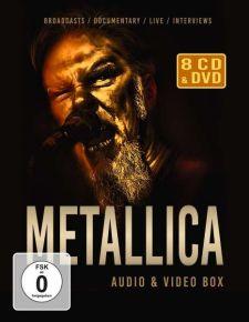 Audio & Video Box - 8CD + DVD / Metallica / 2021