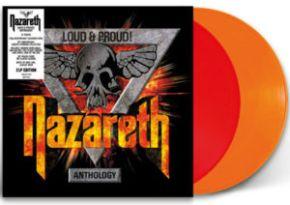 Loud & Proud | Anthology - 2LP (Farvet vinyl) / Nazareth / 2018